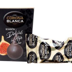 Figi nadziewane truflą z brandy, w czekoladzie *3sztuki
