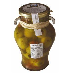 Oliwki zielone Gordal z suszonymi pomidorami